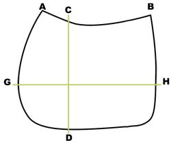 Guide des tailles tapis personnalisable Mattes - Le Paturon